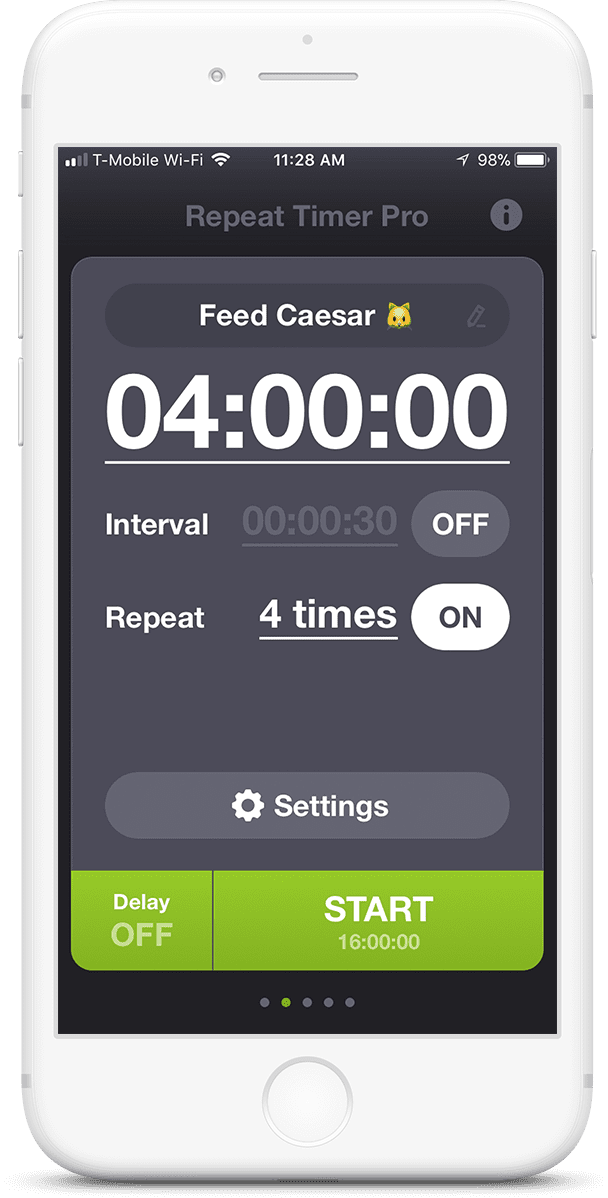 Repeat Timer Pro - Repeating Reminder App for iPhone